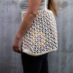 DIY Crochet Pattern Shopping bag Trogir