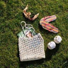 DIY Crochet Kit Shopping bag Trogir Almond